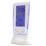 Coway luxe geleid elektronische klok kleurrijke klok thermometer scherm alarm snooze lui nachtlampje