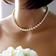 저렴한 -Women's European Fashion  Imitation Pearls  Necklace (1 Pc)