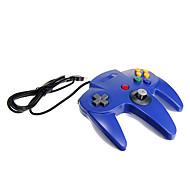 usb n64 suunnittelu pc ohjain sininen