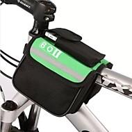 お買い得  -BOI 8 L 自転車用フレームバッグ / トップチューブバッグ 防水, 反射 自転車用バッグ ポリエステル 自転車用バッグ サイクリングバッグ サイクリング / バイク