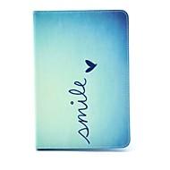 ココはアップルのiPadミニ1/2/3用フィルムやスタイラスでキュートなハート柄PUレザーフリップスタンドケースをfun®