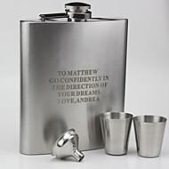 bardak ve huni ile kişiselleştirilmiş hediye 18 oz eğrisi şişesi