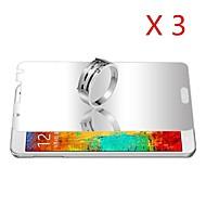 Зеркало экрана протектор для Samsung Galaxy Примечание 4 (3шт)