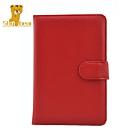 Shy Bear™ Magnet Button PU Leather Cover Case for Sony Prs-T1 PRS T1 T2 6 Inch Ebook Reader