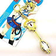 Sieraden geinspireerd door Fairy Tail Cosplay Anime Cosplay Accessoires Kettingen Goud Legering Vrouwelijk