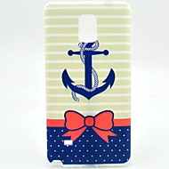 For Samsung Galaxy Note Pattern Case Back Cover Case Anchor TPU Samsung Note 4