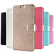cheap Cases / Covers for Samsung-Case For Samsung Galaxy Samsung Galaxy Note Card Holder with Stand Flip Full Body Cases Solid Color PU Leather for Note 4