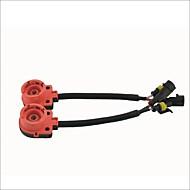 abordables Kits de Faros HID-HID bombilla lastre cable adaptador de enchufe convertidor de arnés para d2 / d4 (2pcs)
