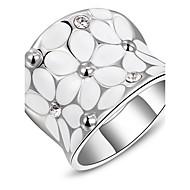 Žene Prstenje sa stavom kostim nakit Platinum Plated Jewelry Za Dnevno Kauzalni