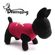 povoljno -Mačka Pas T-majica Odjeća za psa Tijare i krune Rose Pink Kostim Za kućne ljubimce