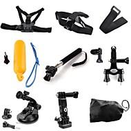 voordelige Sportcamera's & Accessoires voor GoPro-Borstriem Hoofdriemen zuigkracht Bandjes Handbanden Monopod Bevestiging Slimme afstandsbedieningen Drijven Voor Actiecamera Gopro 6 Gopro