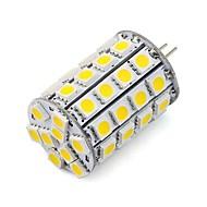 お買い得  LED スポットライト-1個 4.5 W 452 lm G4 LEDスポットライト 49 LEDビーズ SMD 5050 装飾用 温白色 / クールホワイト 12 V / 24 V / # / RoHs