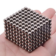 cheap Toys & Hobbies-Magnet Toys 216Pcs 5mm Magnet Toys Executive Toys Puzzle Cube DIY Toys Magnetic Balls Black Education Toys For Gift
