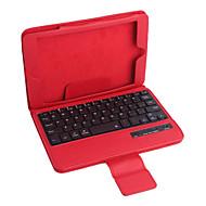 pu lederen case w / bluetooth toetsenbord voor iPad mini 3 ipad mini 2 ipad mini