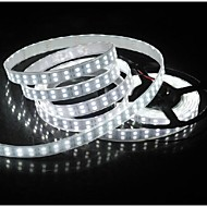 z®zdm waterdichte 5m 144W 600 * 5050 smd 9600lm koel / warm wit licht led strip lamp (12V)