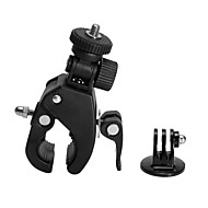 cheap Sports Cameras & Accessories For GoPro-Handlebar Mount Accessories Helmet Mounts Mount / Holder High Quality For Action Camera Gopro 6 Sports DV Gopro 4/3+/2 Auto Snowmobiling
