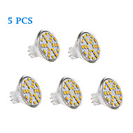 GU4 (MR11) LED-gloeilampen 24 leds SMD 2835 231lm Warm wit Koel wit AC 12