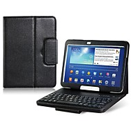 """Недорогие Чехлы и кейсы для Samsung Tab-искусственная кожа флип чехол со встроенным Bluetooth-клавиатура для вкладке галактики Самсунга 3 P5200 10.1 """"Tablet PC (ассорти цветов)"""