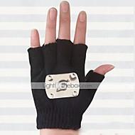 Rękawiczki Zainspirowany przez Naruto Hatake Kakashi Anime Akcesoria do Cosplay Rękawiczki Černá Wełna Męskie
