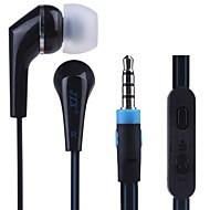 iPhoneとAndroid携帯電話のための耳のイヤホンでJTX-A10高品質のボリュームコントロール