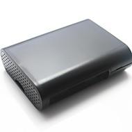 ラズベリーパイのB +の保護ABSシェルケースボックス - 黒