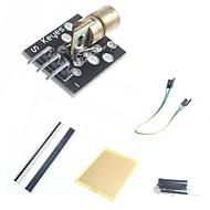 お買い得  Arduino 用アクセサリー-arduinoのためのDIYの650nmのレーザセンサモジュールおよび付属