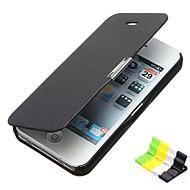 Недорогие Кейсы для iPhone-матовое дизайн магнитного пряжки Полный Дело Корпус и держатель телефона для iPhone 5с