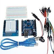 お買い得  Arduino 用アクセサリー-ArduinoのためのUNO +プロトタイプ拡張ボードとブレッドボード