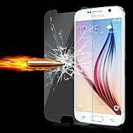 お買い得  Samsung 用スクリーンプロテクター-Cwxuan スクリーンプロテクター のために Samsung Galaxy S6 強化ガラス スクリーンプロテクター 指紋防止