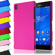 BIG D Matte Back Case for Sony Xperia Z3(Assorted Color) Cases / Covers for Sony