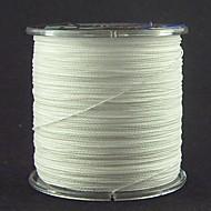 300M / 330 Yards PE Gevlochten Lijn / Dyneema Vislijn Wit 60LB / 70LB / 80LB 0.37mm,0.40mm,0.45mm mm VoorZeevissen / Vliegvissen / Aas