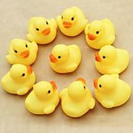 aranyos sárga kacsa úszás