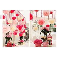 Papír - Különböző színekben - Dekoratív virág és gyümölcs