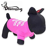 Katzen / Hunde T-shirt Rose Hundekleidung Frühling/Herbst Buchstabe & Nummer