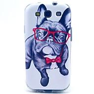 voordelige Hoesjes / covers voor Samsung-Voor Samsung Galaxy hoesje Patroon hoesje Achterkantje hoesje Hond TPU Samsung S3