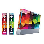 お買い得  -B-SKIN ステッカー 用途 WiiのU / Wii 、 アイデアジュェリー ステッカー PVC 1 pcs 単位