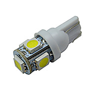 abordables Otras Luces LED-70-90 lm T10 Luces Decorativas 5 leds SMD 5050 Blanco Fresco DC 12V