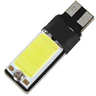 1 db T10 3 W 2led nagyteljesítményű LED 210-260 lm 2800-3500 / 6000-6500 K hideg fehér dekoráció fény DC 12 V-