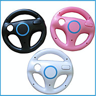 cheap Nintendo DS Accessories-DF-0083 Bluetooth Steering Wheels for Nintendo Wii U Novelty Wireless