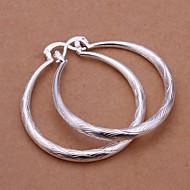 tanie 30% TANIEJ i więcej-Damskie Kolczyki drop Srebro standardowe Kolczyki damska Biżuteria Srebrny Na Ślub Impreza Codzienny Casual