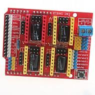 お買い得  Arduino 用アクセサリー-ArduinoのためのCNCのシールドv3の彫刻機3Dプリンタa4988拡張ボードのドライバボード