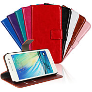 Para Funda Samsung Galaxy Soporte de Coche / con Soporte / Flip / Diseños / Magnética Funda Cuerpo Entero Funda Un Color Cuero Sintético