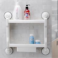 お買い得  浴室用小物-浴室棚 高品質 コンテンポラリー プラスチック 1枚 - ホテルバス 壁式
