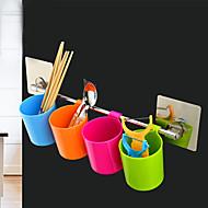 abordables Organización de encimera y pared-Cocina Plástico Repisas y Soportes