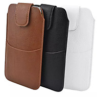 общая пу материала личи плюс внешний мешок носить кобуру ремень для Samsung Galaxy Примечание 3 Примечание 4 S6 А7 (разные цвета)