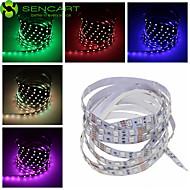 voordelige -SENCART Flexibele LED-verlichtingsstrips 120 LEDs Warm wit RGB Wit Roze Groen Geel Blauw Rood Afstandsbediening Knipbaar Dimbaar