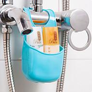 お買い得  浴室用小物-浴室小物 多機能 旅行 エコ プレゼント 創造的 キュート シリコーンゴム シリコーン 1枚 - 浴室 バス組織
