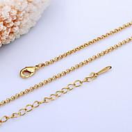 preiswerte -Damen Ketten Perle 18K Gold Ketten .