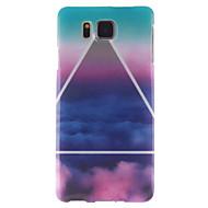 billige Etuier til Samsung-For Samsung Galaxy etui IMD Etui Bagcover Etui Landskab TPU Samsung Alpha