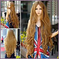 Недорогие Парики-Искусственные волосы парики Крупные кудри С чёлкой Без шапочки-основы Парики для косплей Длинные